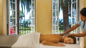 According to TripAdvisor, the spa at the Four Seasons Biltmore Santa Barbara is the best in the country. Hope Mick and his lobbyist friends made time for at least one massage.
