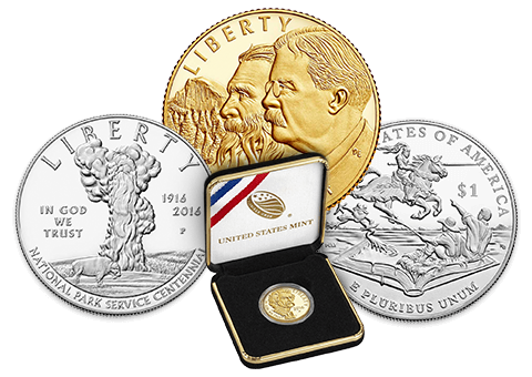 The US Mint made coins to commemorate the National Park Service and Mark Twain in 2016. The Breast Cancer Awareness coin will be made in 2018.
