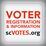 "To find your polling place, visit www.scvotes.org and look for ""find my polling place"" on the right side of the page."